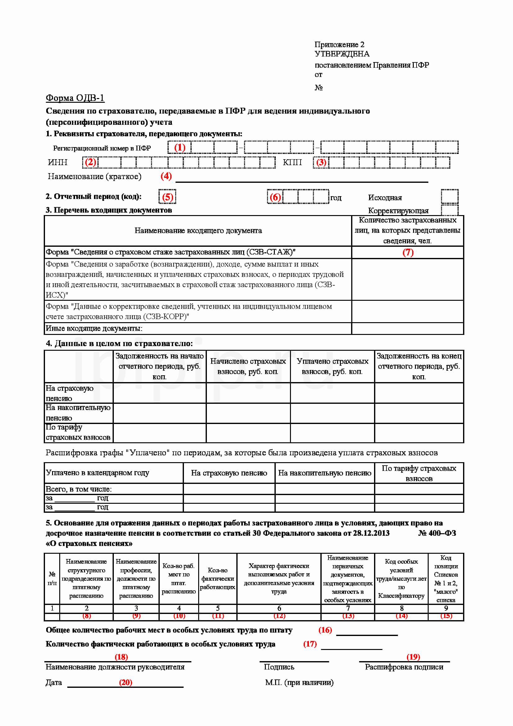 Как сделать корректировку персонифицированного учета 898